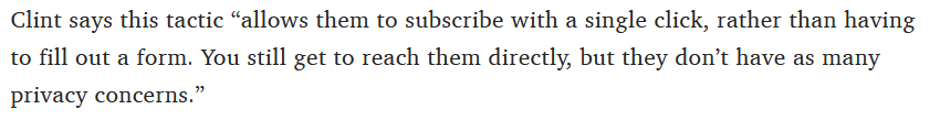 subscriber increase quote